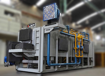 Teknoaustral - Isothermal transformation mesh belt furnace for forged pieces