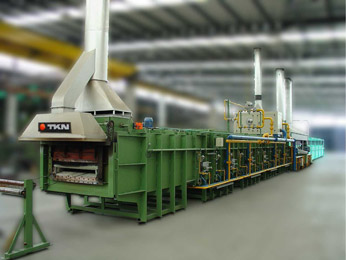 Teknoaustral - Steel wire patenting line