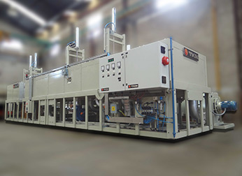 Teknoaustral - Conveyor chain coating drying oven